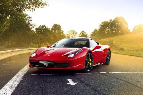 Jízda ve Ferrari