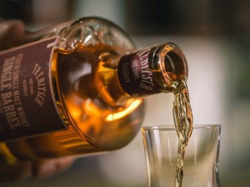 Domácí degustace single malt whisky TREBITSCH - Porto