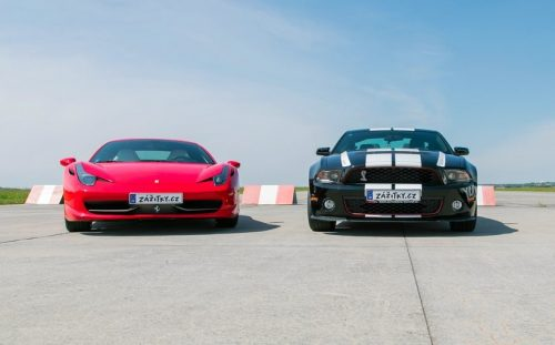Ferrari 458 Italia vs. Ford Mustang GT350 Shelby