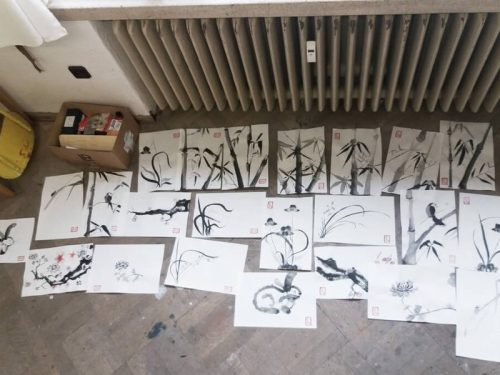 Tajemství malby čínskou tuší