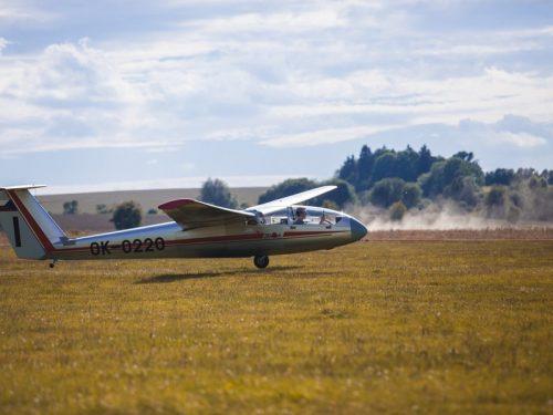 Vyhlídkový let větroněm pro milovníky letadel